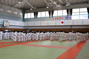 第20回 宍粟山崎少年少女柔道大会